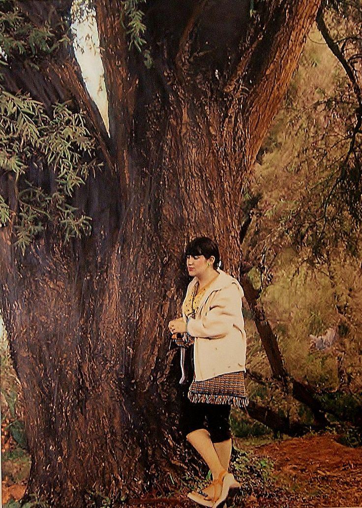 """Comtemplation"" Artista: Twila Zirakzadeh, fotografía original coloreada a mano, 21.5x28 cm, 2015 +PA"