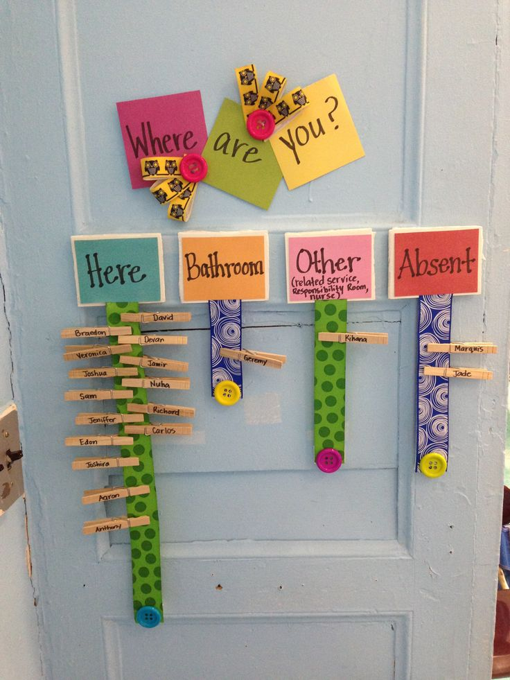 Great Classroom Decor ~ Clothes pin student quot organizer great for classrooms with