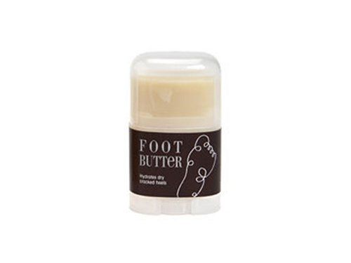 Foot Butter with essential oils by MERBEN. $8.00. Foot Butter soothes and softens dry, tired and calloused feet. It contains a soothing, moisturizing blend of Vegetable Oil, Alberta Beeswax, Cocoa Butter and Carrot Tissue Oil, combined with essential oils of Grapefruit, Pine, Patchouli and Lemongrass.  Cocoa Butter is absorbed by the skin, nourishing and moisturizing it, while Beeswax acts as a protective barrier and moisturizer. Essential Oils of Grapefruit, ...
