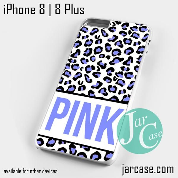 Pink Blue Leopard Phone case for iPhone 8 | 8 Plus