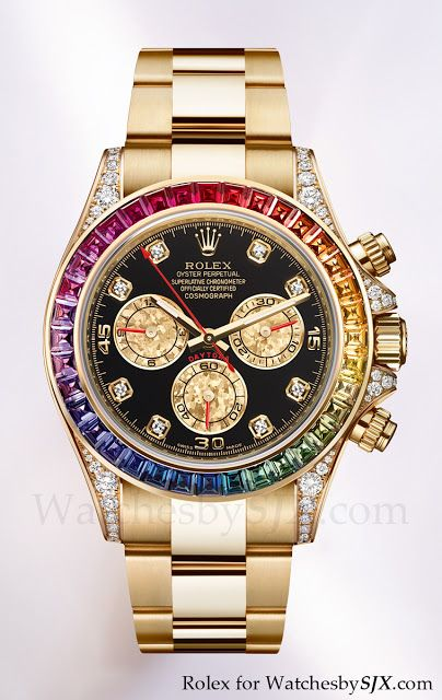 Rolex bling at Baselworld 2012 including the Rainbow Daytona (with pricing)   Watches By SJX