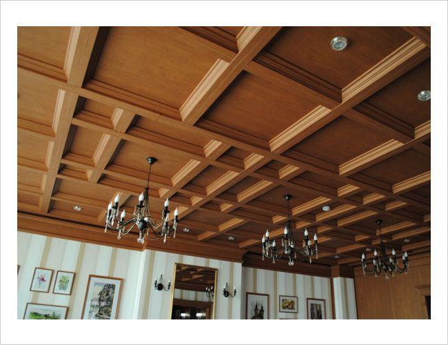 Кессонный подвесной потолок