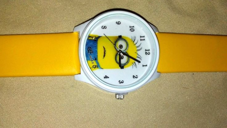 Cutely Cartoon Watches / for Children Kids Boys Girls Despicable Me Minion Watch #Unbranded #CartoonNovelty