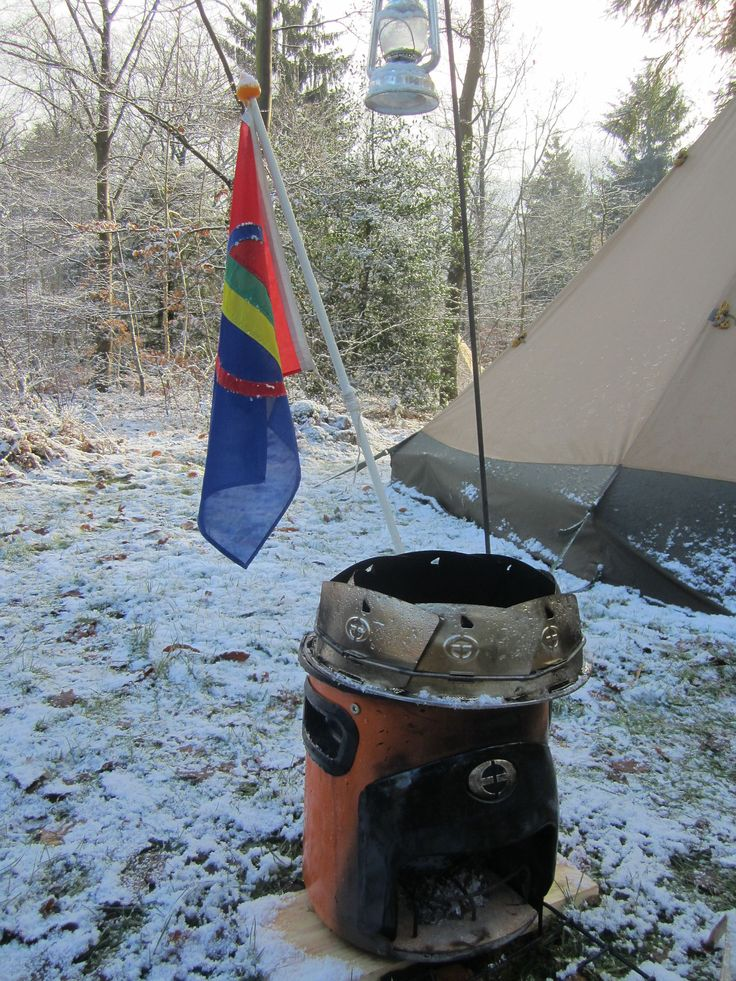 Outdoor cooking with the Envirofit