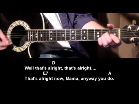 That's All Right Mama - Elvis Presley - How To Play - Best Beginner Guitar Lessons - YouTube