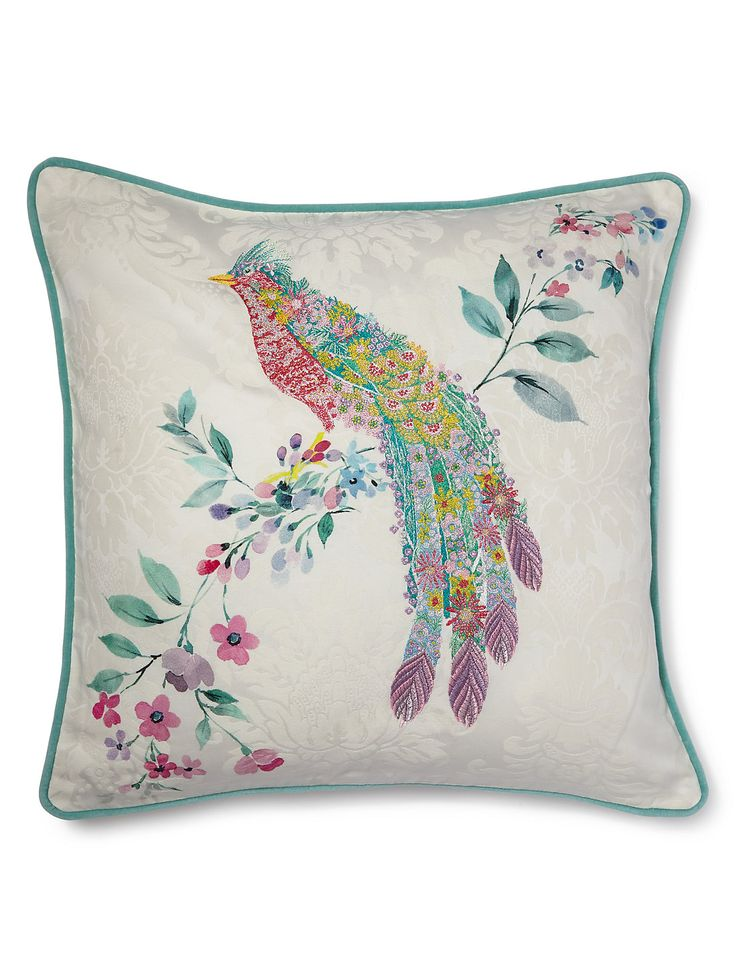 Eleanor Embroidered Cushion