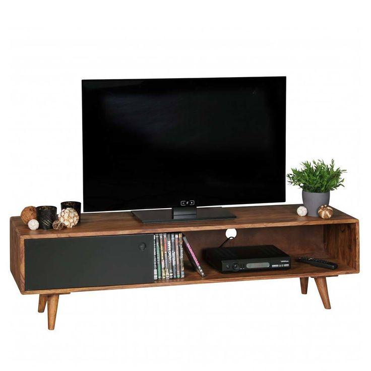 die besten 25 schwarzer fernsehtisch ideen auf pinterest tv st nder schlafzimmer coole. Black Bedroom Furniture Sets. Home Design Ideas