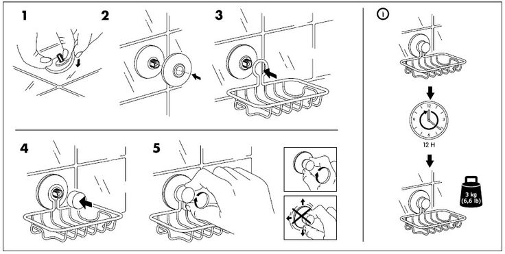 ikea immeln soap dish installation instructions  revised