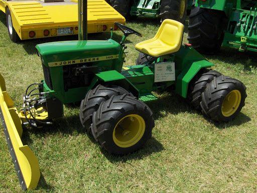 Articulating Garden Tractors Http Picasaweb Google Lh Photo John Deere 140 Tractor Equipment Pinterest