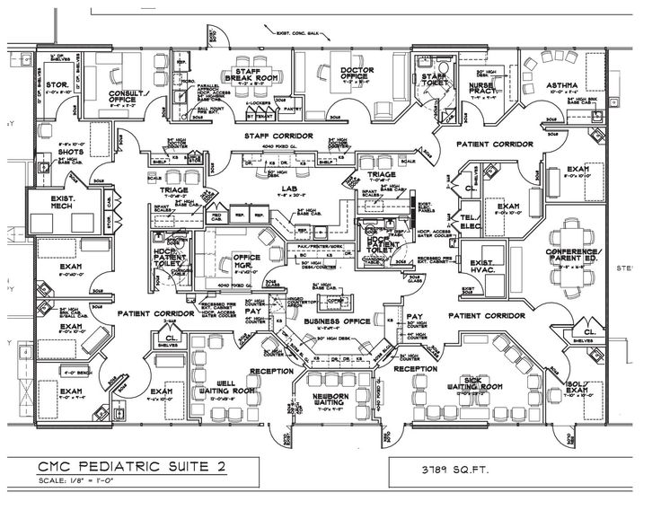 Pediatric Medical Office Layout Medical Office Lease