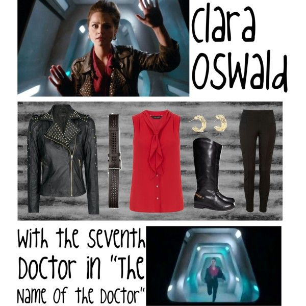 """""""Clara Oswald Outfit - The Name Of The Doctor - 7th Doctor"""" by ilovejennalots on Polyvore"""