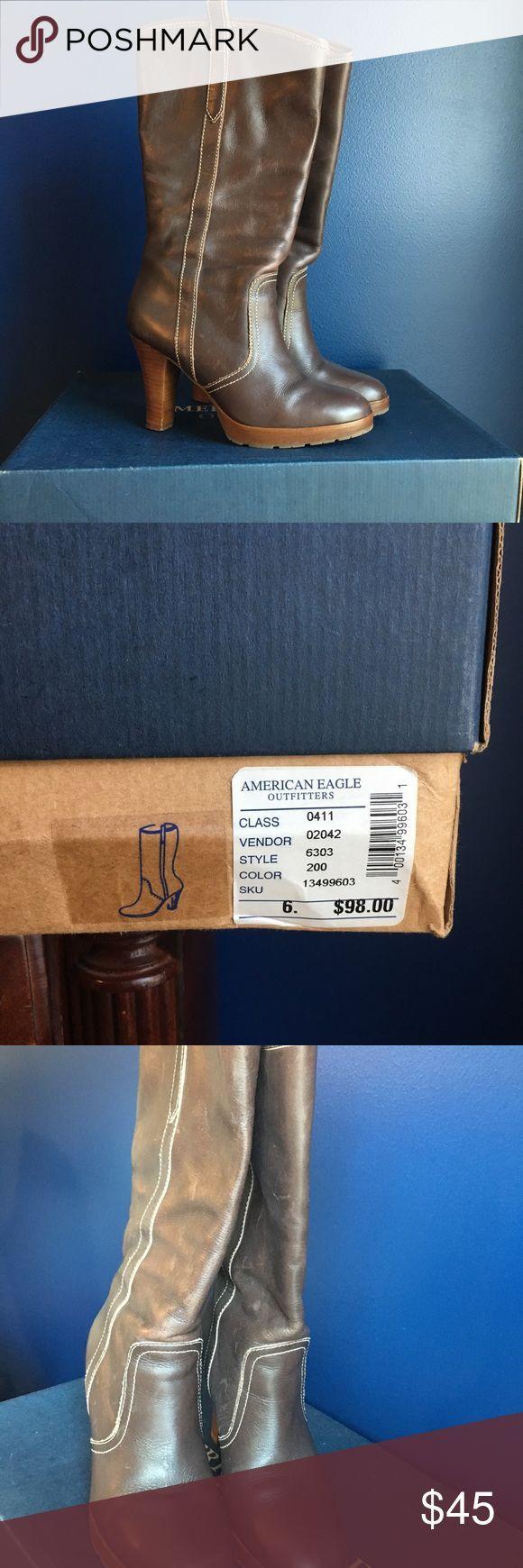 Amerikaanse laarzen met bruine hakken,  #Amerikaanse #Bruine #hakken #LAARZEN #met #outfitter…