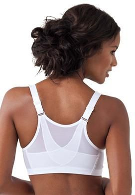 Magic Lift Plus® Front Hook Posture Bra by Glamorise®   Plus Size Bras by Brand   Roamans Goes up to size 58 J