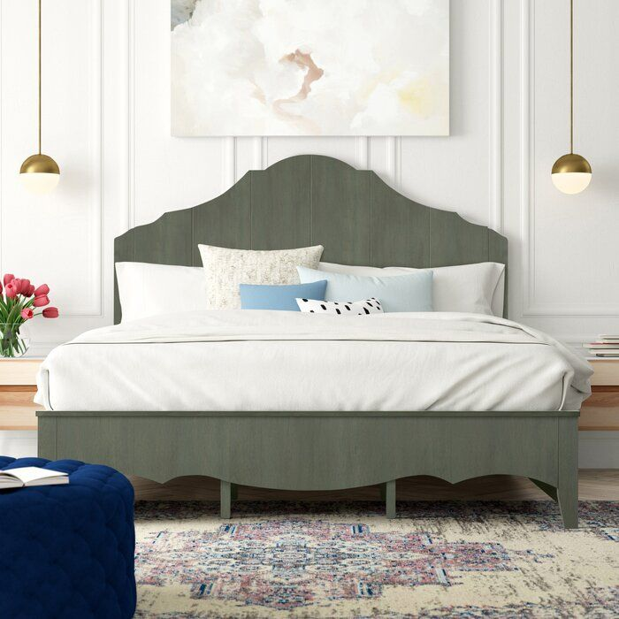 Woodside Scalloped Standard Bed In 2020 Adjustable Beds Panel