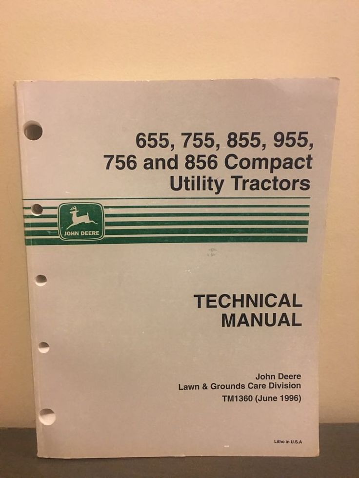 The 25 best john deere utility tractors ideas on pinterest john john deere 655 755 756 855 856 compact utility tractor technical manual tm1360 fandeluxe Choice Image