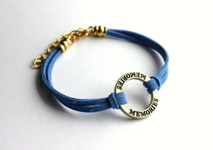 """Memories"" strap bracelet  from Especially for You by http://en.dawanda.com/shop/slicznieilirycznie"