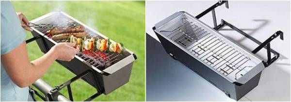 Electric Grills For Apartment Balconies ~ Best ideas about balcony grill on pinterest small