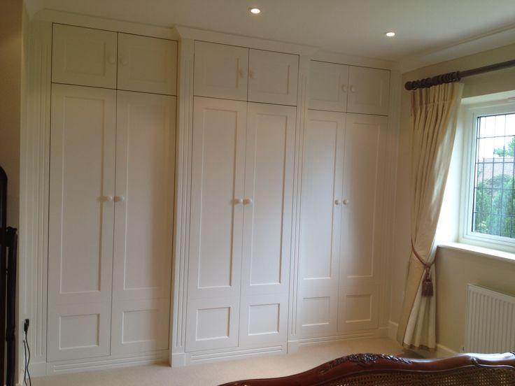 Bespoke wardrobe by Anthony Mullan furniture