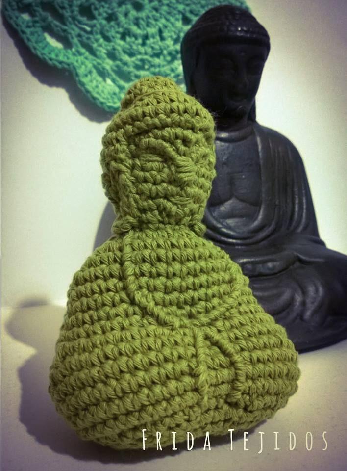 Buda Amigurumi diseñado por Frida Tejidos <3