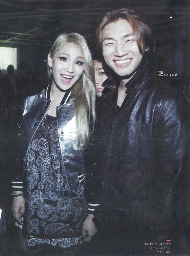 CL + Daesung @ W Magazine (October 2014)