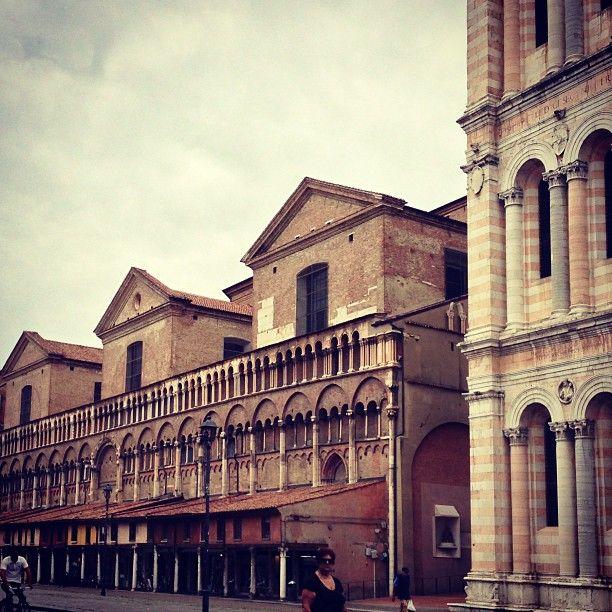 Piazza Trento e Trieste nel Ferrara, Emilia-Romagna