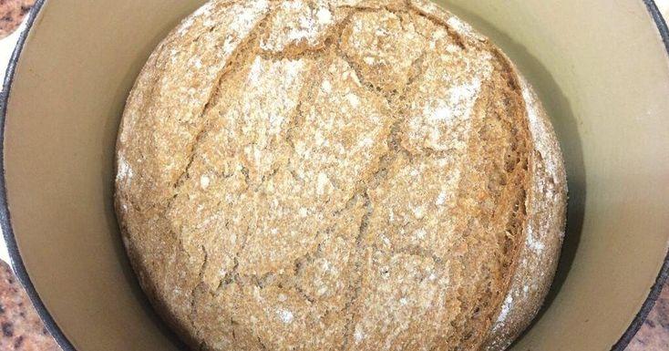 La mejor receta de pan casero en olla de hierro fundido al horno