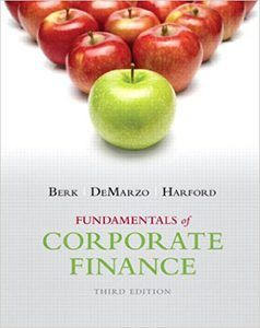 fundamentals of corporate finance 3rd edition solutions manual test bank