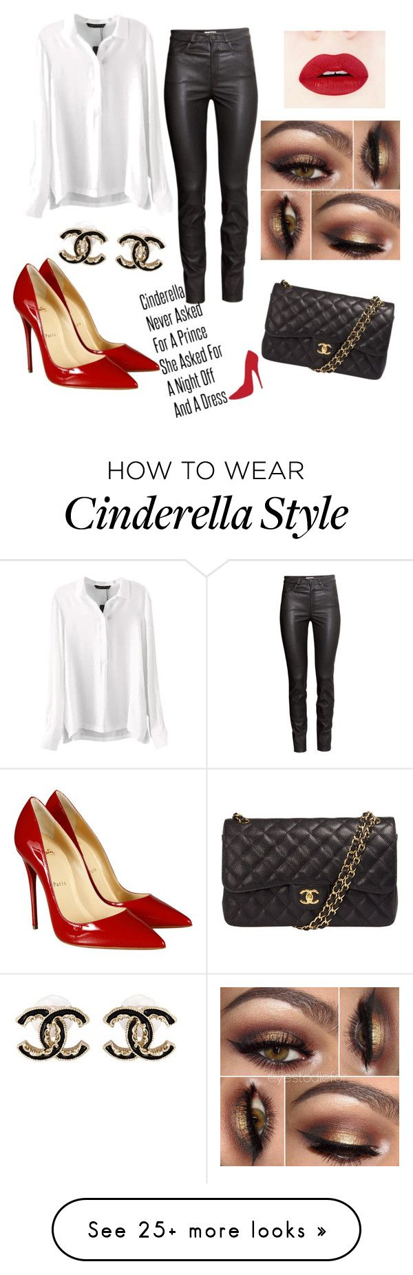 """""""Untitled #35"""" by istyle5 on Polyvore featuring H&M, Christian Louboutin and Chanel"""