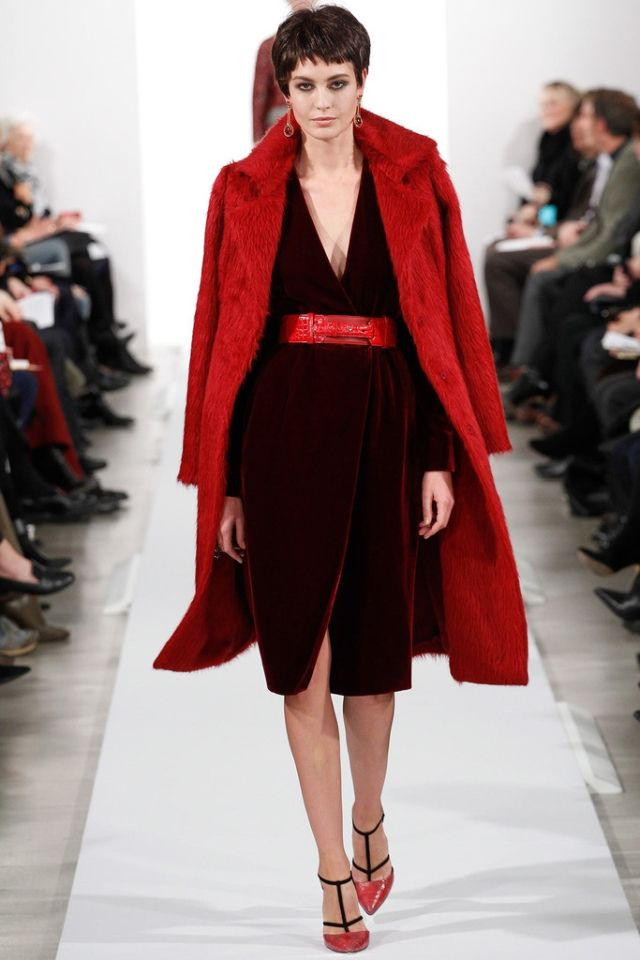 Fall 2014 collection, presented at  Mercedes-Benz Fashion Week in New York.