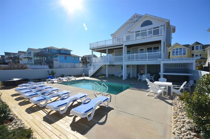 32 best obx new vacation rentals images on pinterest for Vacation rentals with private swimming pool