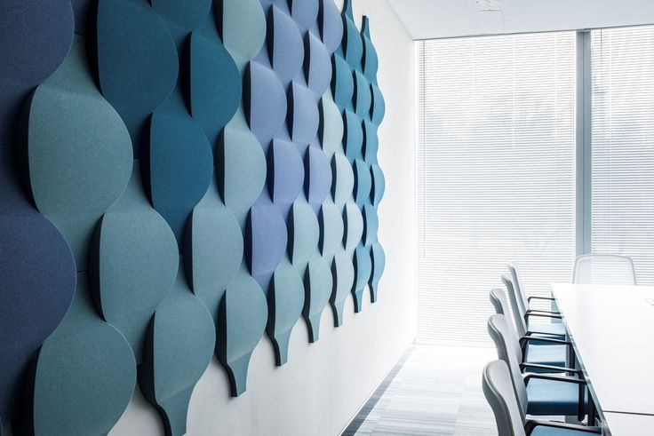 Fluffo Flow 2.0 - soft, acoustic wall panels