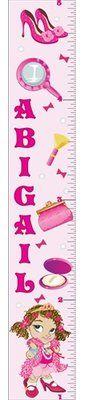 Mona Melisa Designs Fancy Girl Growth Chart