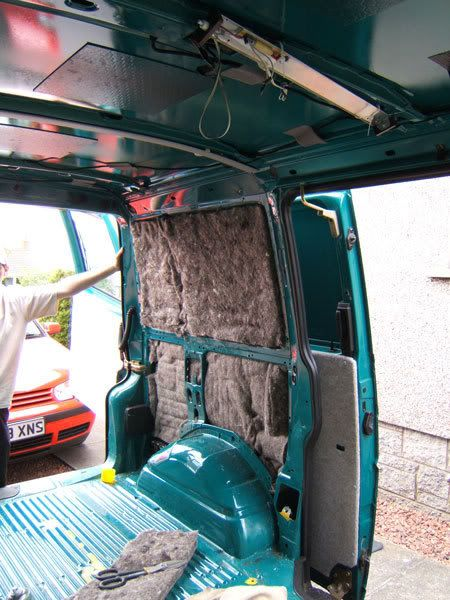 RV Insulation Made Of Sheeps Wool And Hemp Van Conversions