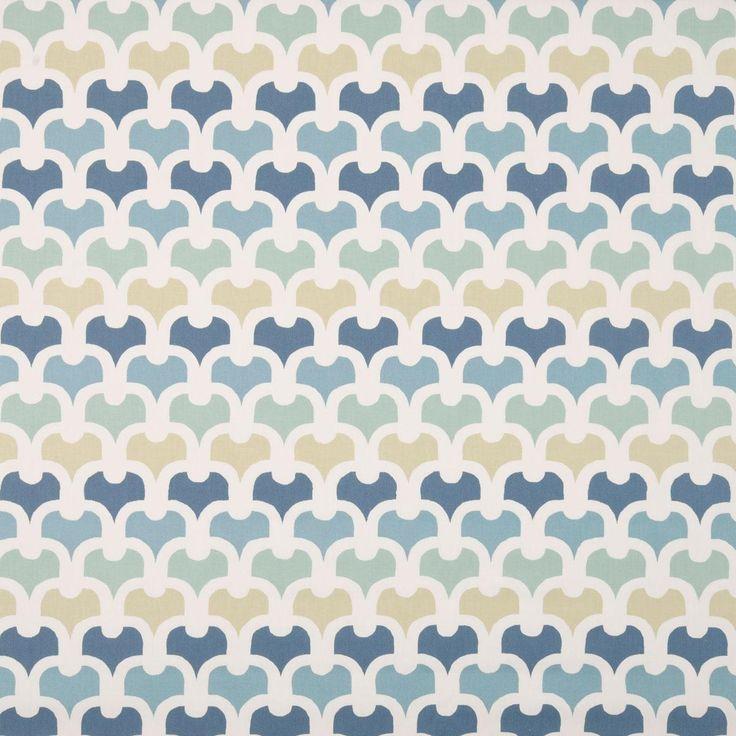 Pembury Curtain Fabric - colonial - Terrys Fabrics UK