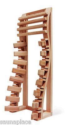 Saunas 181054: Spinal Cedar Backrest, Sauna Accessories, Sauna Supplies, Saunas -> BUY IT NOW ONLY: $117.99 on eBay!