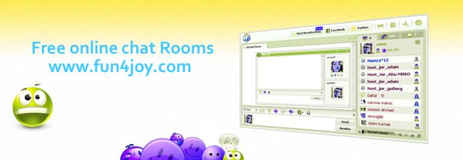 Join Free online chat rooms