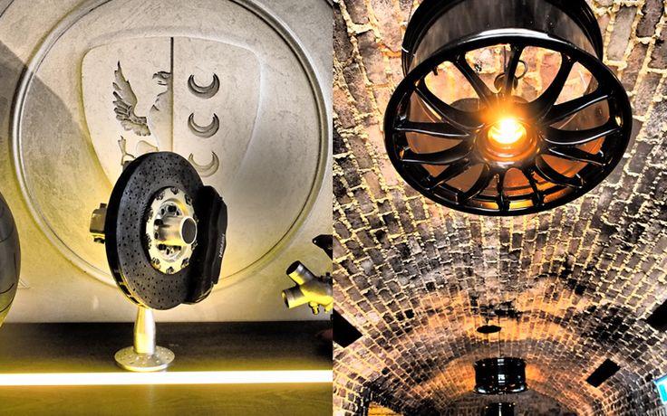 Love our Ferrari Challenge 360 Light Fitting #interior #DIY at Criniti's