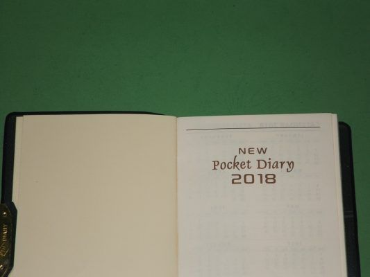 Buku Agenda Saku New Pocket Diary 2018 - Ayuprint.co.idAyuprint.co.id