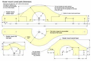 3-D Pantograph planos pré-visualização