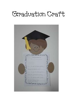 This is mini unit for the end of the year.  The unit includes:- graduation child craft with templates and instructions- Lesson plan for writing...