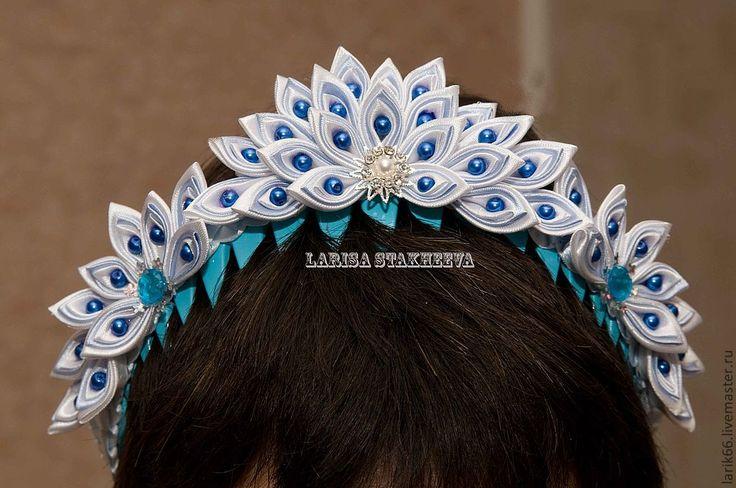 kanzashi headband