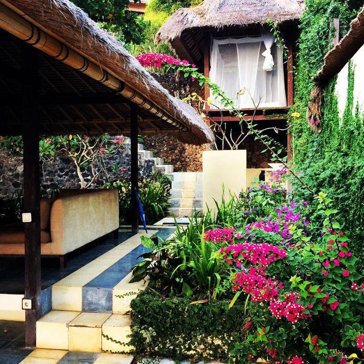 My villa at The Bloo Lagoon Village, Padang Bai.