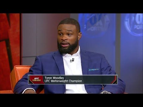 UFC ON FOX: Tyron Woodley explains why doesn't respect Stephen 'Wonderboy' Thompson - 'UFC Tonight'