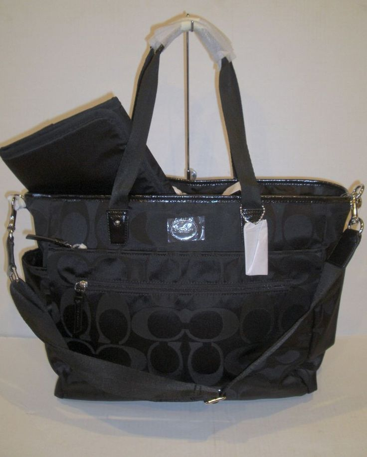 how to clean coach diaper bag