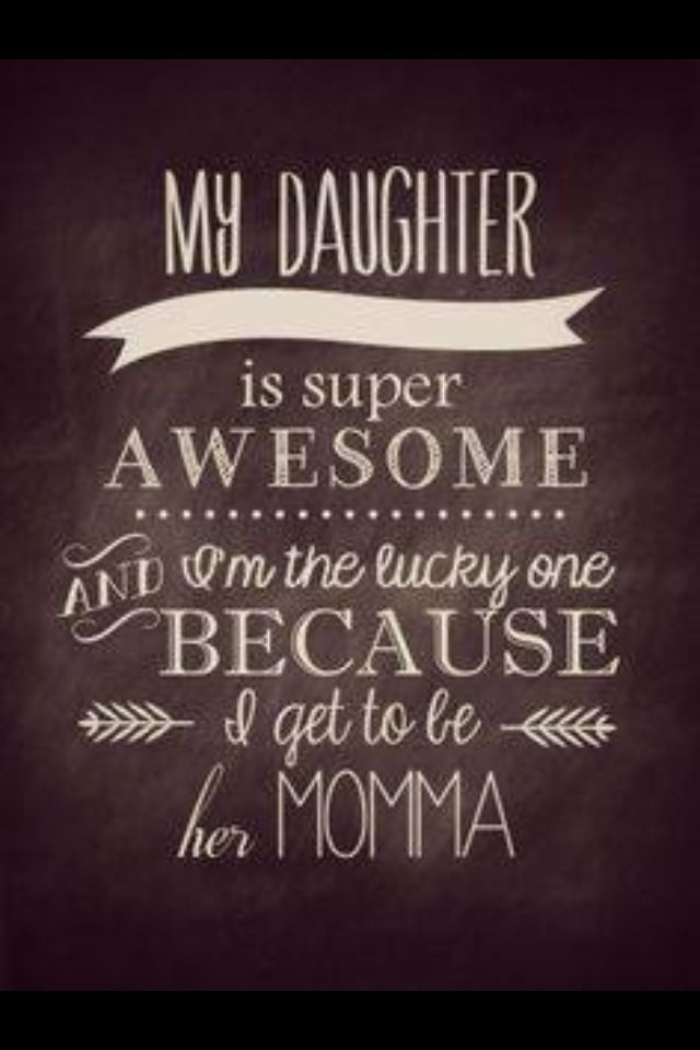 Beautiful mother-daughter quote