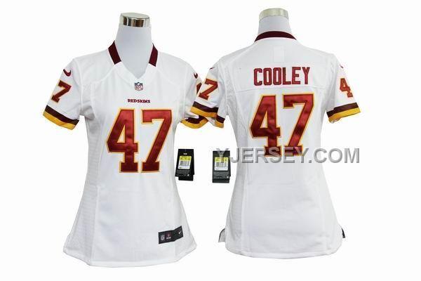 http://www.yjersey.com/nike-redskins-47-cooley-white-women-game-jerseys-online.html NIKE REDSKINS 47 COOLEY WHITE WOMEN GAME JERSEYS ONLINE Only 36.00€ , Free Shipping!