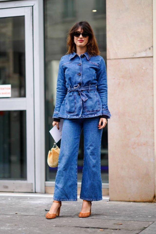 con Così di Come parigine portano jeans denim le il modelli questi wcOaqBp