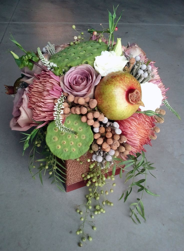 Modern Fall Garden Arrangement
