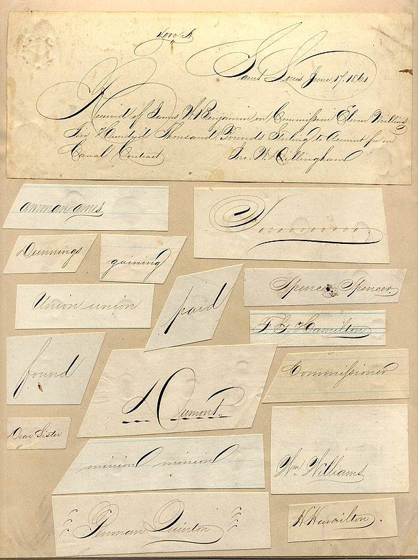 25 Best Images About Flourish Calligraphy Art Penmanship