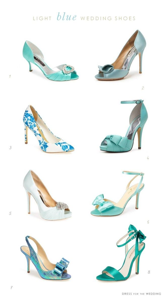 light blue wedding shoes... Nice collection in Aqua and Blue color ....